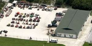 Lawn and Turf Equipment Pros Aerial View